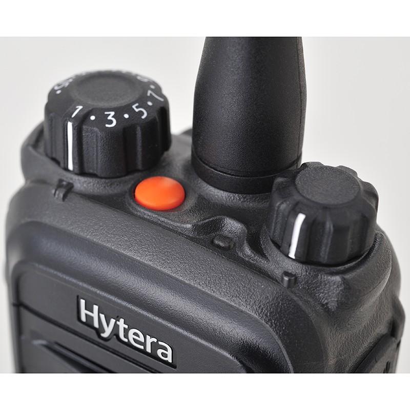 Верхние элементы управления рации Hytera PD705