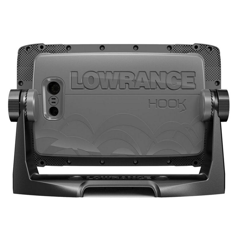 Эхолот Lowrance HOOK2-7x с GPS SplitShot