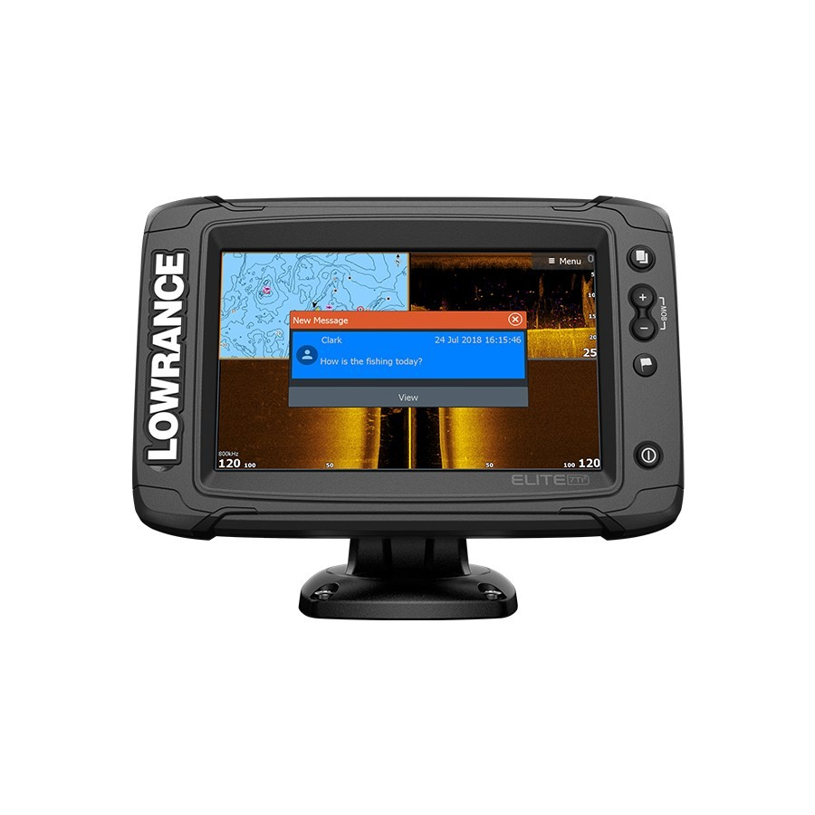 Эхолот-картплоттер Lowrance Elite-7 Ti² with Active Imaging 3-in-1 (ROW)