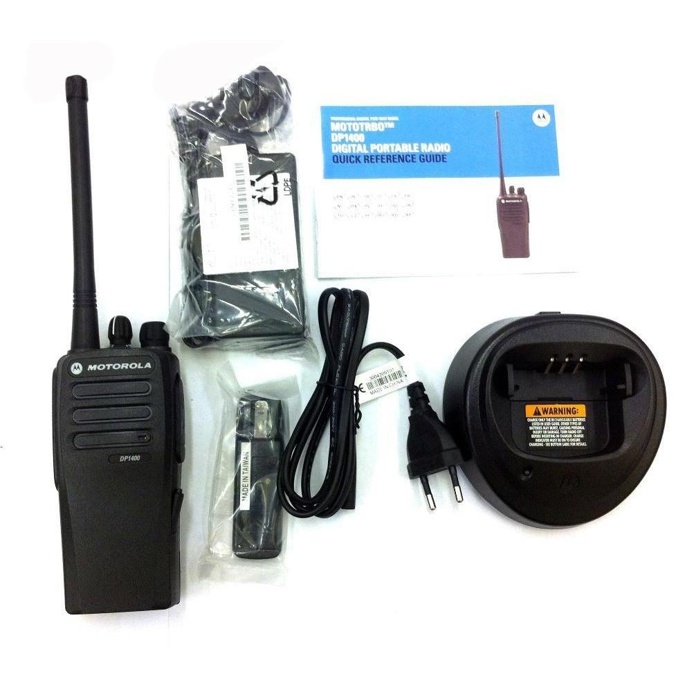 Комплектация рации Motorola DP1400