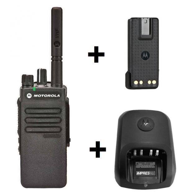 Комплектация рации Motorola DP2400E