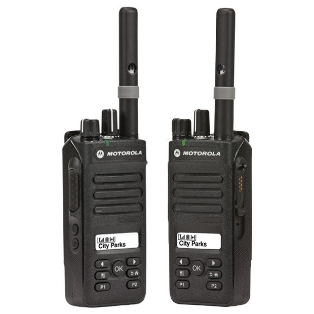 Рация Motorola DP2600E - боковые панели