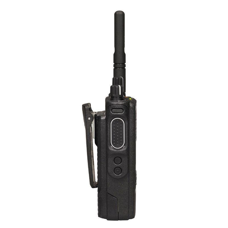 Motorola DP4601е - вид сбоку