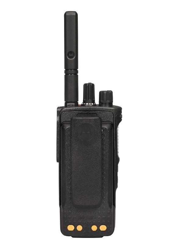 Рация Motorola DP4601е - вид сзади
