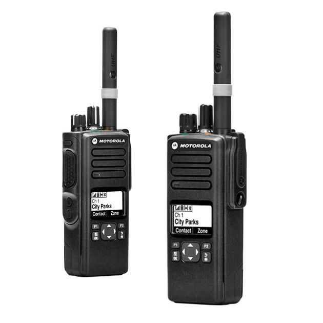 Рация Motorola DP4600е - боковые кнопки