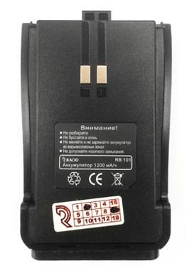 Аккумулятор RB101 для радиостанции RACIO R100