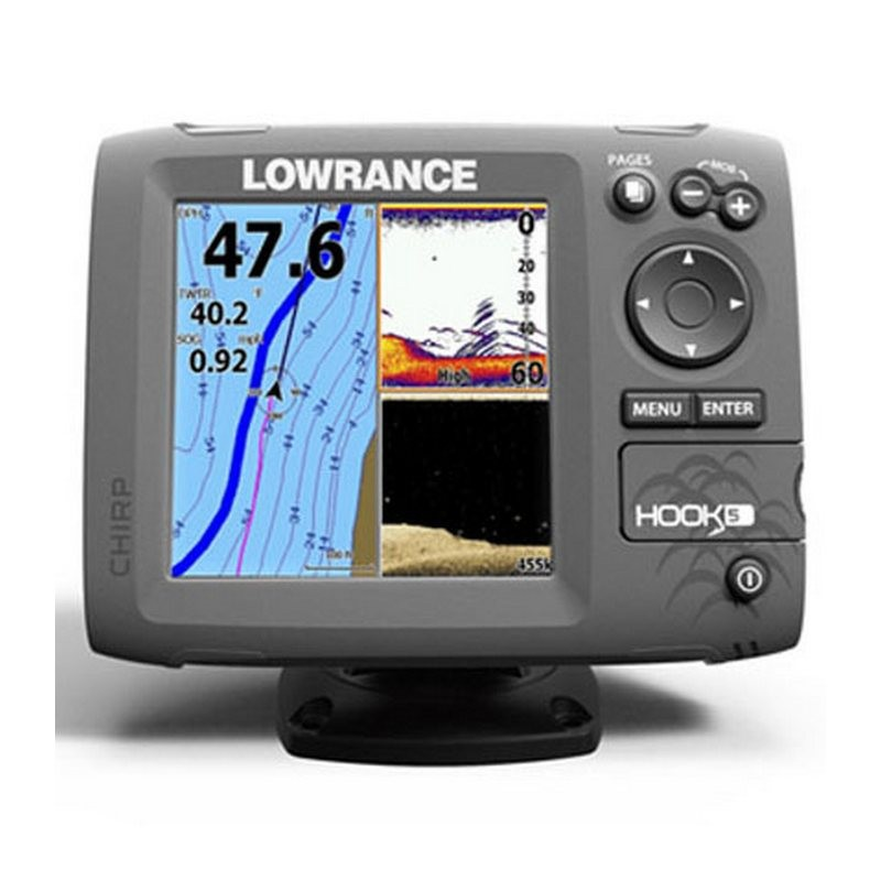 Картплоттер-эхолот Lowrance Hook-5